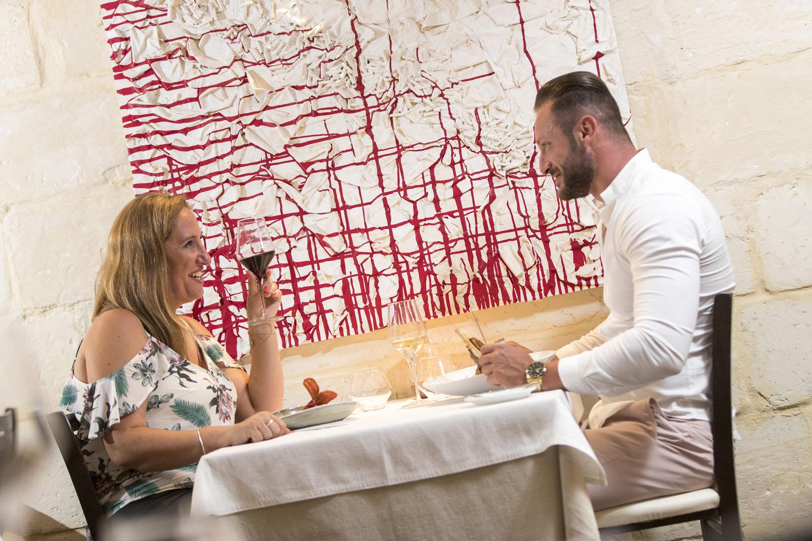 Fine Dining Malta, Surf N Turf